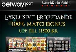 Betway Casino i mobilen